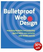 Picture of Bulletproof Web Design book jacket