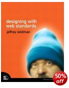 Picture of Designing with Web Standards book jacket