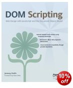 Picture of DOM Scripting book jacket