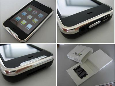 "Various angles of ""Iphone looking Mp4 player"""