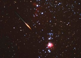 Image of Leonid meteor
