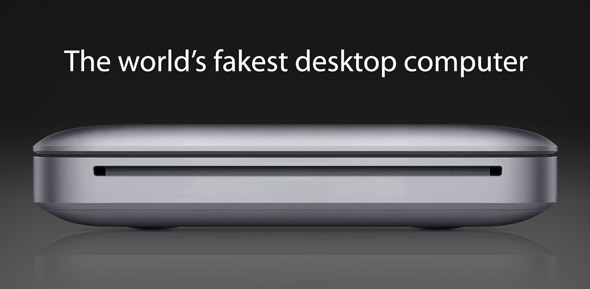 The world's fakest desktop computer